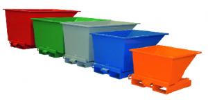 spalvoti konteineriai